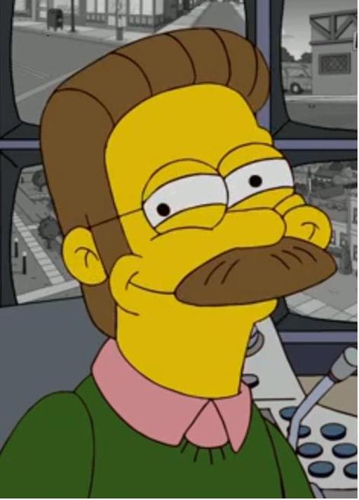 Ned Flanders Rape Face